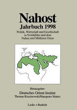 Nahost Jahrbuch 1998 von Deutsches Orient-Institut