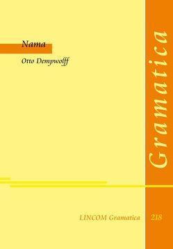Nama von Dempwolff,  Otto