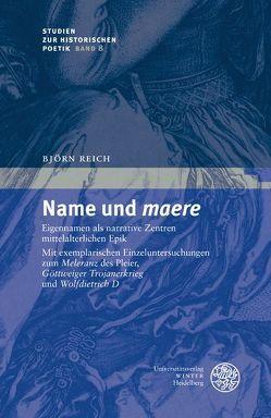Name und 'maere' von Reich,  Björn