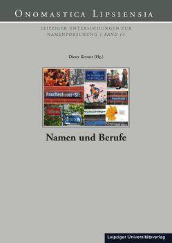 Namen und Berufe von Kremer,  Dieter