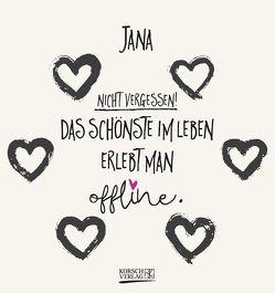 Namenskalender Jana von Korsch Verlag
