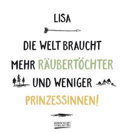 Namenskalender Lisa von Korsch Verlag