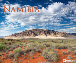 Namibia 2022 – Foto-Kalender – Poster-Kalender – 60×50 – Wildnis – Natur – Reisen