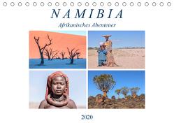 Namibia, afrikanisches Abenteuer (Tischkalender 2020 DIN A5 quer) von Kruse,  Joana