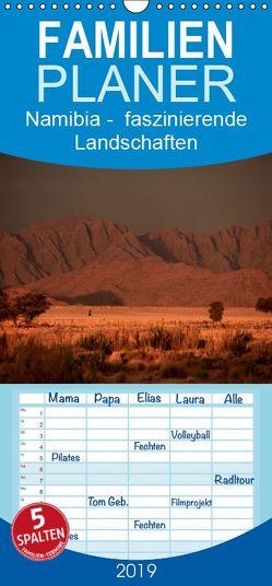 Namibia – Bühne faszinierender Landschaften – Familienplaner hoch (Wandkalender 2019 <strong>21 cm x 45 cm</strong> hoch) von Werner Altner,  Dr.