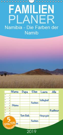 Namibia – Die Farben der Namib – Familienplaner hoch (Wandkalender 2019 , 21 cm x 45 cm, hoch) von Schaenzer,  Sandra