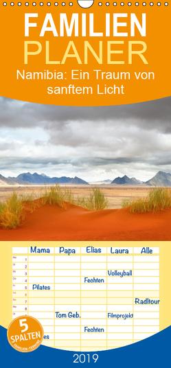 Namibia: Ein Traum von sanftem Licht und unendlicher Weite – Familienplaner hoch (Wandkalender 2019 , 21 cm x 45 cm, hoch) von Pichler,  Simon