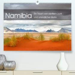 Namibia: Ein Traum von sanftem Licht und unendlicher Weite (Premium, hochwertiger DIN A2 Wandkalender 2021, Kunstdruck in Hochglanz) von Pichler,  Simon