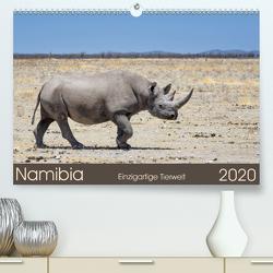 Namibia – einzigartige Tierwelt (Premium, hochwertiger DIN A2 Wandkalender 2020, Kunstdruck in Hochglanz) von Alpert,  Christian