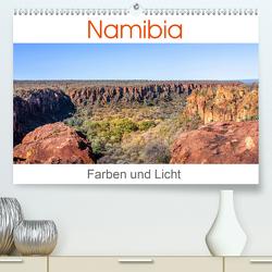 Namibia – Farben und Licht (Premium, hochwertiger DIN A2 Wandkalender 2021, Kunstdruck in Hochglanz) von Gerber,  Thomas