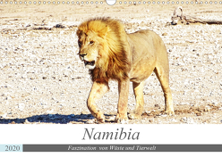 Namibia, Faszination Wüste und Tierwelt (Wandkalender 2020 DIN A3 quer) von Kärcher,  Linde