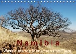 Namibia – faszinierende Menschen und Tiere (Tischkalender 2020 DIN A5 quer) von Dürr,  Brigitte