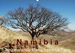 Namibia – faszinierende Menschen und Tiere (Wandkalender 2018 DIN A2 quer) von Dürr,  Brigitte