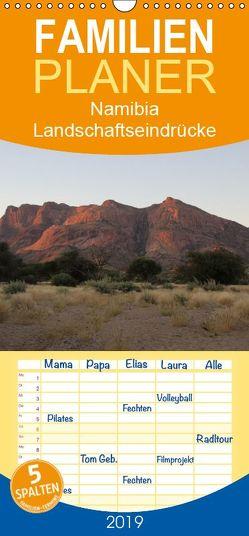 Namibia – Landschaftseindrücke – Familienplaner hoch (Wandkalender 2019 , 21 cm x 45 cm, hoch) von Morper,  Thomas
