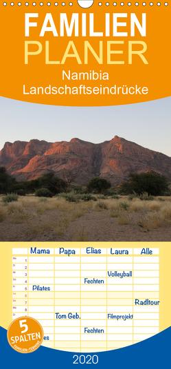 Namibia – Landschaftseindrücke – Familienplaner hoch (Wandkalender 2020 , 21 cm x 45 cm, hoch) von Morper,  Thomas