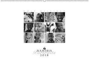 Namibia Portraits (Wandkalender 2018 DIN A2 quer) von Hilfiker,  Rolf