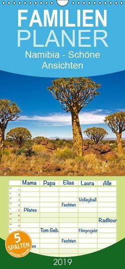 Namibia – Schöne Ansichten – Familienplaner hoch (Wandkalender 2019 , 21 cm x 45 cm, hoch) von Paszkowsky,  Ingo
