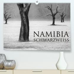 Namibia schwarzweiß (Premium, hochwertiger DIN A2 Wandkalender 2020, Kunstdruck in Hochglanz) von Voss,  Michael
