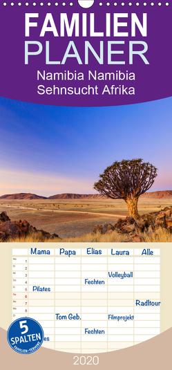 Namibia – Sehnsucht Afrika – Familienplaner hoch (Wandkalender 2020 , 21 cm x 45 cm, hoch) von Obländer,  Markus