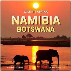 Namibia und Botswana – Wildnis Afrika von Sbampato,  Thomas