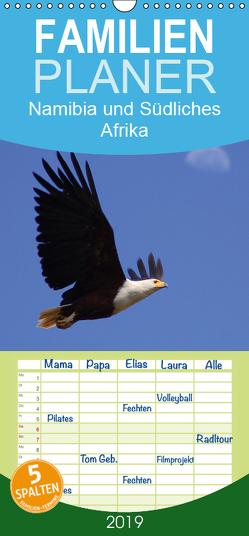 Namibia und Südliches Afrika – Tiere und Landschaften – Familienplaner hoch (Wandkalender 2019 , 21 cm x 45 cm, hoch) von Tkocz,  Eduard