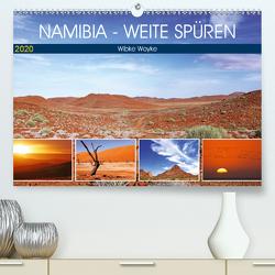 Namibia – Weite spüren (Premium, hochwertiger DIN A2 Wandkalender 2020, Kunstdruck in Hochglanz) von Woyke,  Wibke