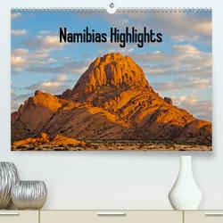 Namibias Highlights (Premium, hochwertiger DIN A2 Wandkalender 2021, Kunstdruck in Hochglanz) von Scholz,  Frauke