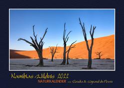 NAMIBIAS WILDNIS – Naturkalender 2022 von du Plessis,  Claudia, Du Plessis,  Wynand