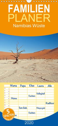 Namibias Wüste – Familienplaner hoch (Wandkalender 2020 , 21 cm x 45 cm, hoch) von Gerhardt,  Jana