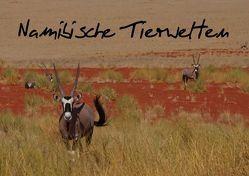 Namibische Tierwelten (Posterbuch DIN A2 quer) von Wolf,  Gerald