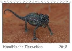 Namibische Tierwelten (Tischkalender 2018 DIN A5 quer) von Wolf,  Gerald