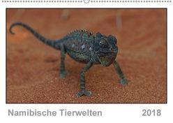Namibische Tierwelten (Wandkalender 2018 DIN A2 quer) von Wolf,  Gerald