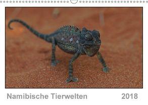 Namibische Tierwelten (Wandkalender 2018 DIN A3 quer) von Wolf,  Gerald