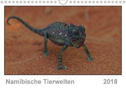 Namibische Tierwelten (Wandkalender 2018 DIN A4 quer) von Wolf,  Gerald