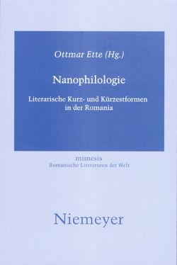 Nanophilologie von Ette,  Ottmar