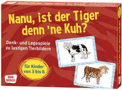 Nanu, ist der Tiger denn ´ne Kuh? von Gully,  Angela