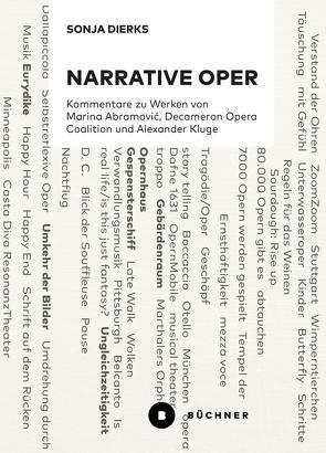 Narrative Oper von Dierks,  Sonja