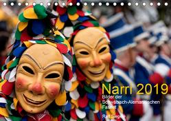 Narri 2019 Bilder der Schwäbisch-Alemannischen Fasnet (Tischkalender 2019 DIN A5 quer) von Siegele,  Ralf