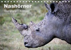 Nashörner – Begegnungen in Afrika (Tischkalender 2019 DIN A5 quer) von Herzog,  Michael