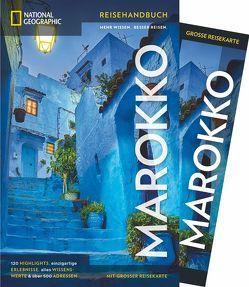 National Geographic Reiseführer Marokko: Ein Reiseführer zu Zielen wie Casablanca, Tanger, Fès und dem Atlasgebirge. Mit Tipps und Infos auf dem aktuellen Stand von 2018 und detailreicher Landkarte. von French,  Carole, Redecker,  Lutz