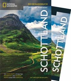 NATIONAL GEOGRAPHIC Reisehandbuch Schottland mit Maxi-Faltkarte von McKelvie,  Robin & Jenny