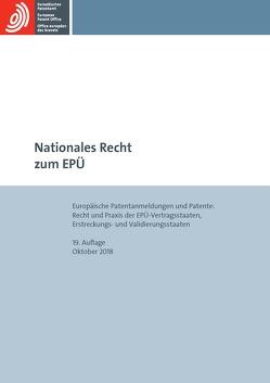 Nationales Recht zum EPÜ