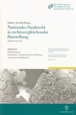 Nationales Strafrecht in rechtsvergleichender Darstellung. von Cornils,  Karin, Sieber,  Ulrich