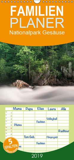 Nationalpark Gesäuse – Familienplaner hoch (Wandkalender 2019 , 21 cm x 45 cm, hoch) von Hollinger,  Andreas