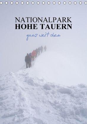 Nationalpark Hohe Tauern ganz weit oben (Tischkalender 2018 DIN A5 hoch) von Becker,  Antje