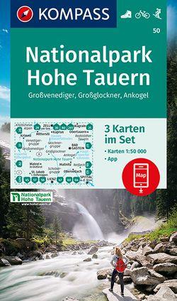 Nationalpark Hohe Tauern, Großvenediger, Großglockner, Ankogel von KOMPASS-Karten GmbH