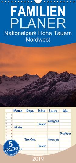Nationalpark Hohe Tauern Nordwest – Familienplaner hoch (Wandkalender 2019 , 21 cm x 45 cm, hoch) von Becker,  Antje