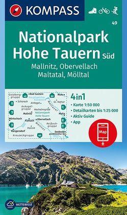 Nationalpark Hohe Tauern Süd, Mallnitz, Obervellach, Maltatal, Mölltal von KOMPASS-Karten GmbH