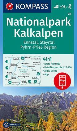 Nationalpark Kalkalpen, Ennstal, Steyrtal, Pyhrn-Priel-Region von KOMPASS-Karten GmbH