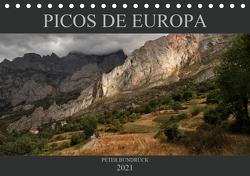 NATIONALPARK PICOS DE EUROPA (Tischkalender 2021 DIN A5 quer) von Bundrück,  Peter